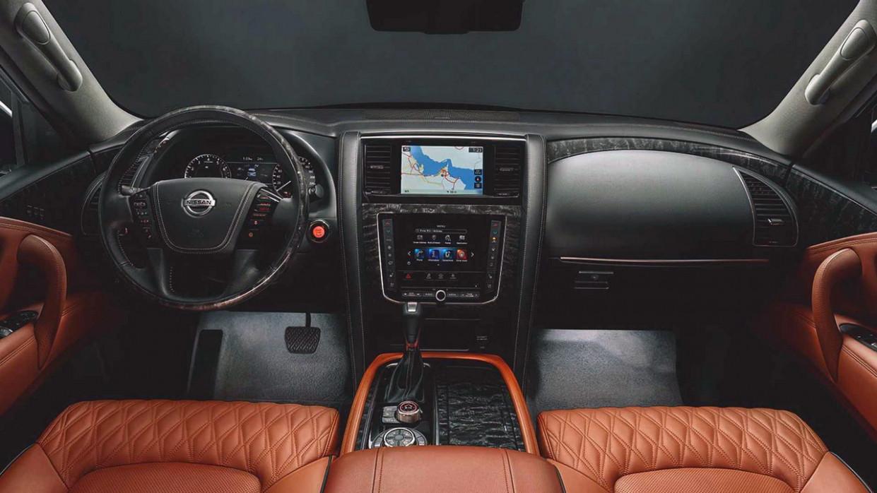 Configurations 2022 Nissan Patrol