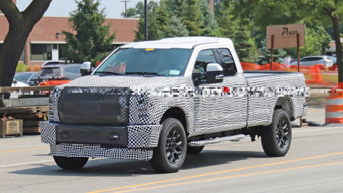 Concept 2022 Spy Shots Ford F350 Diesel
