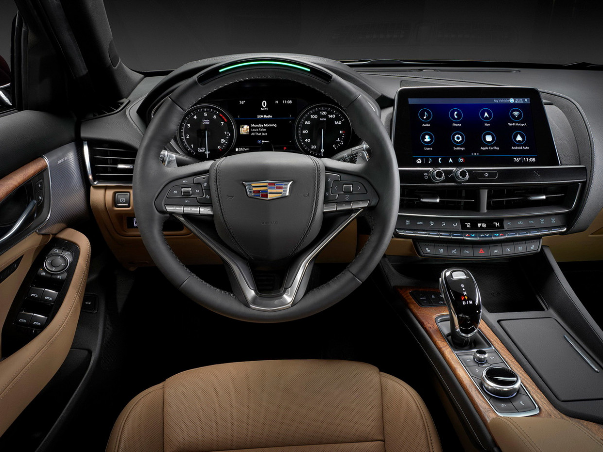 Picture 2022 Cadillac Ct5 Interior
