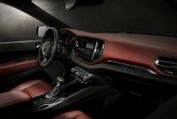 concept and review 2022 dodge durango interior