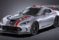 concept and review 2022 dodge viper acr