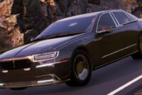concept and review 2022 lincoln town car