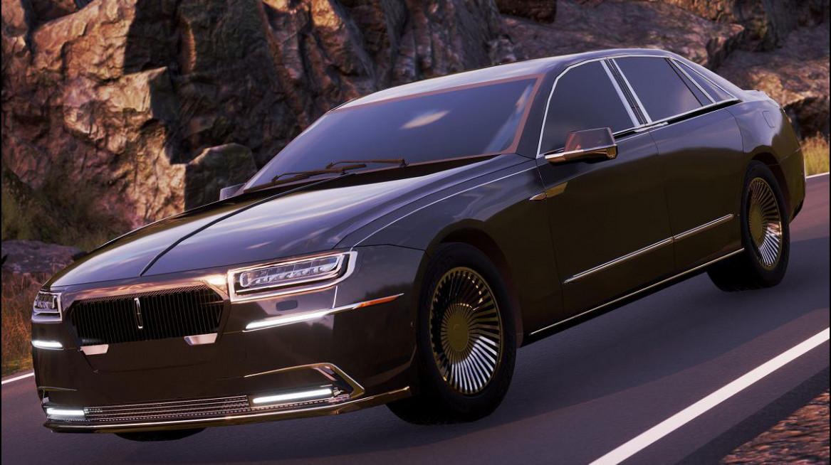 Concept 2022 Lincoln Town Car
