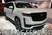 concept and review cadillac suv escalade 2022