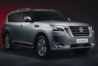 concept and review nissan patrol facelift 2022