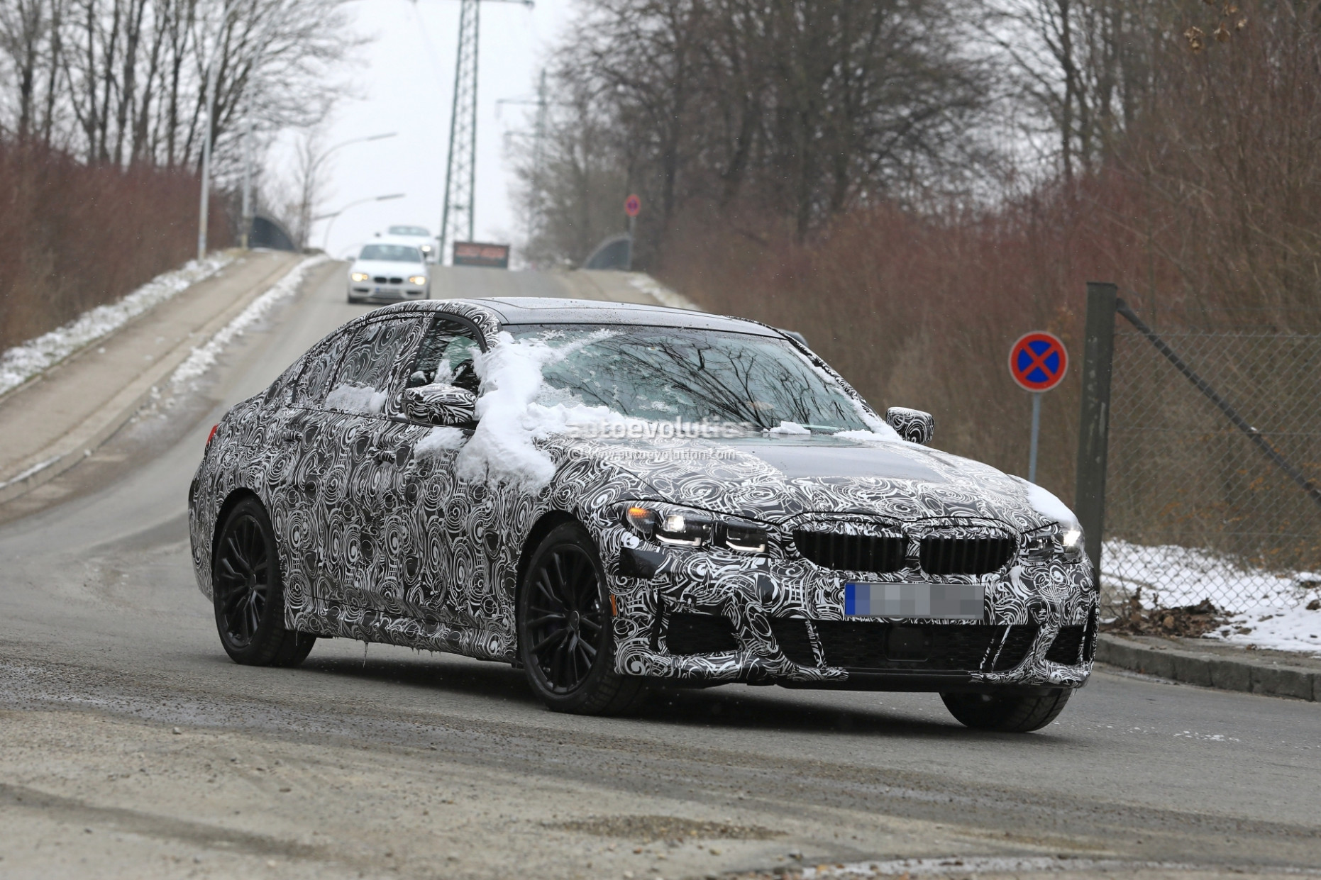 Redesign Spy Shots BMW 3 Series