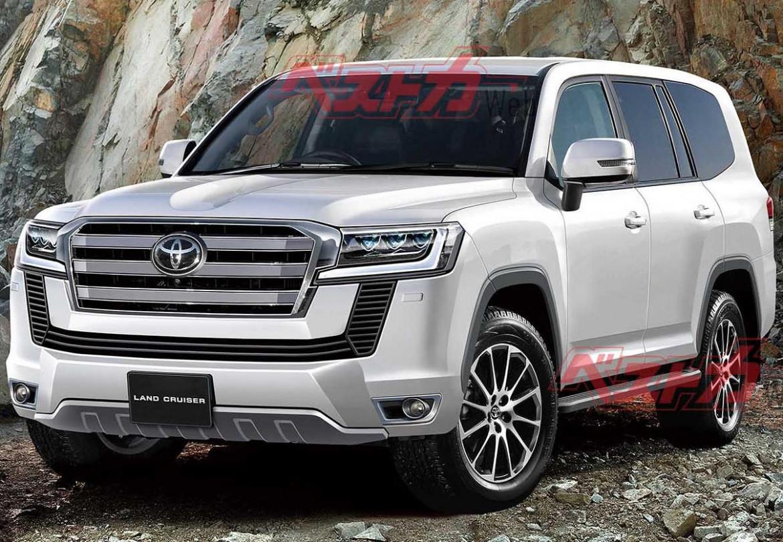 Images Toyota New Land Cruiser 2022