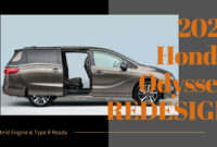 concept and review when does 2022 honda odyssey come out