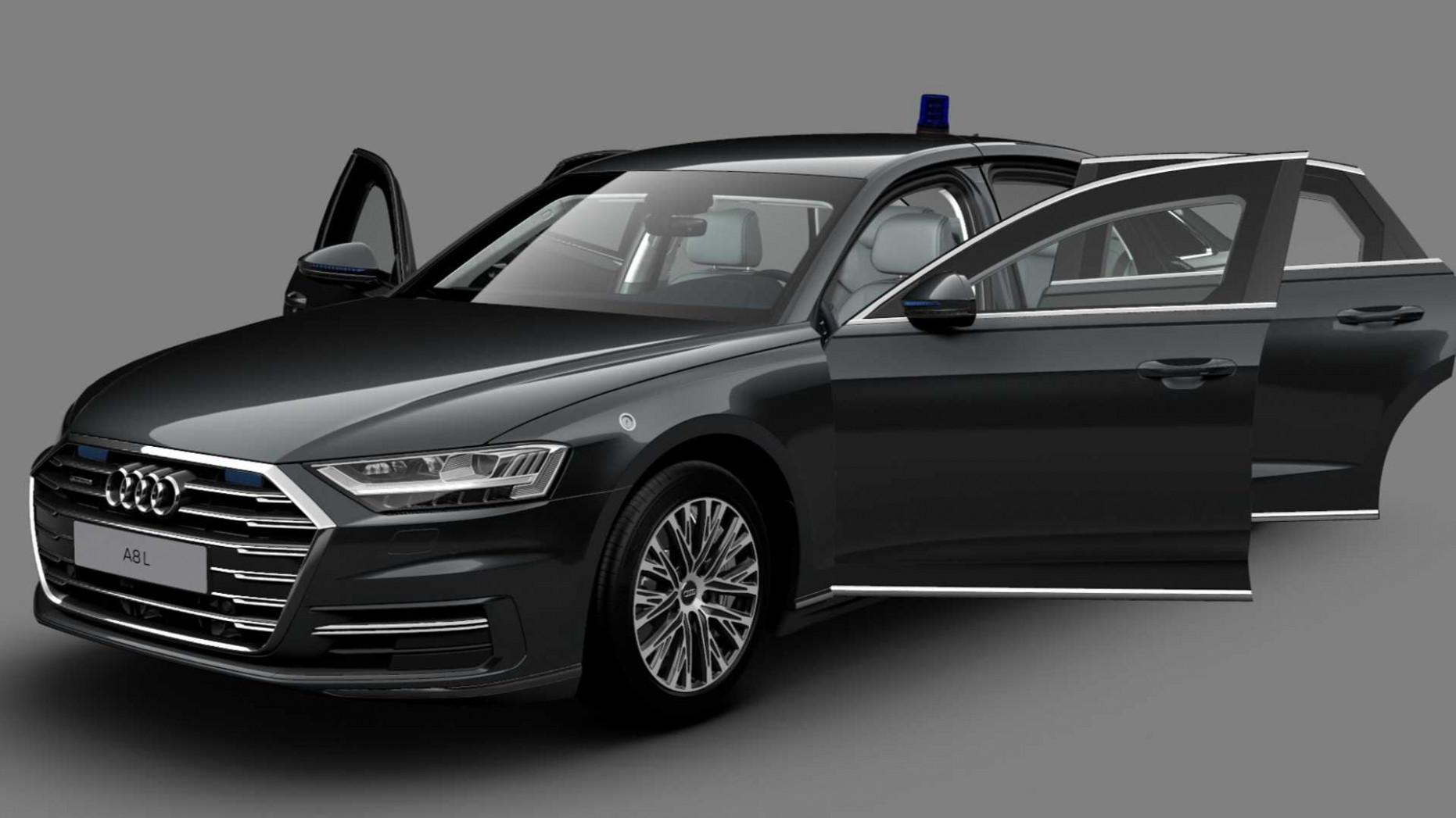 Configurations Audi A8