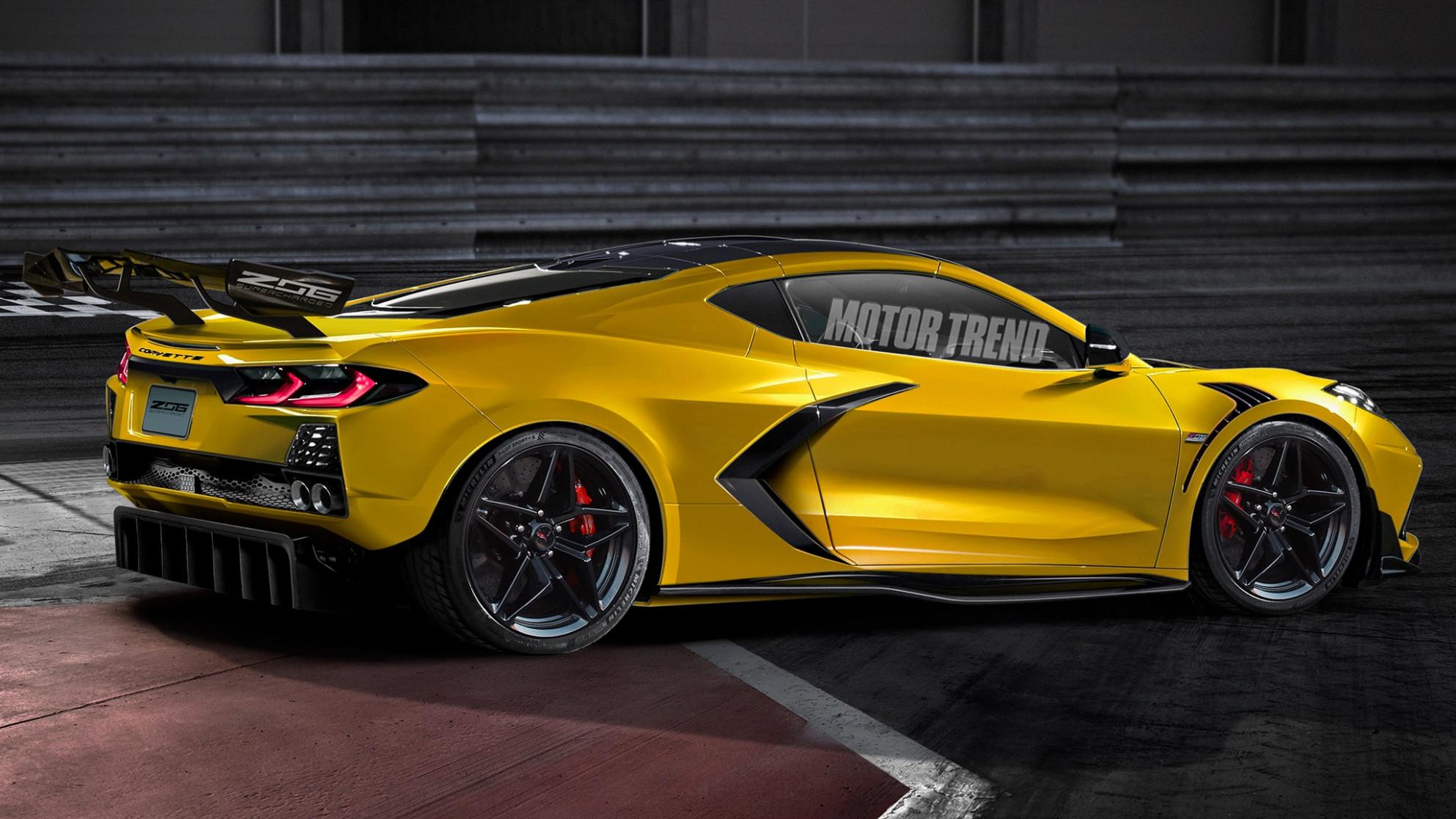 Redesign Chevrolet Corvette Zr1 2022