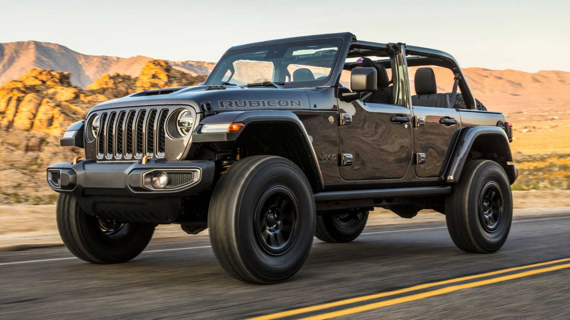 Exterior and Interior Jeep Wrangler Unlimited 2022