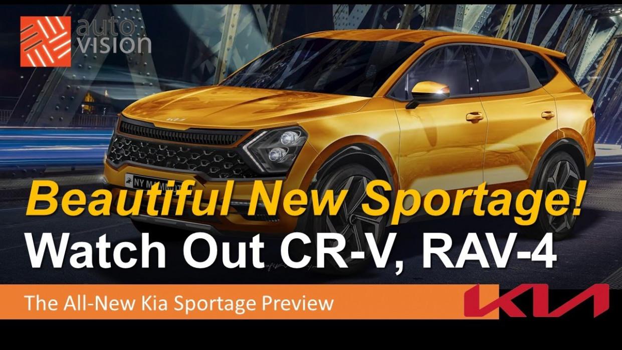 Wallpaper Kia Sportage 2022 Model