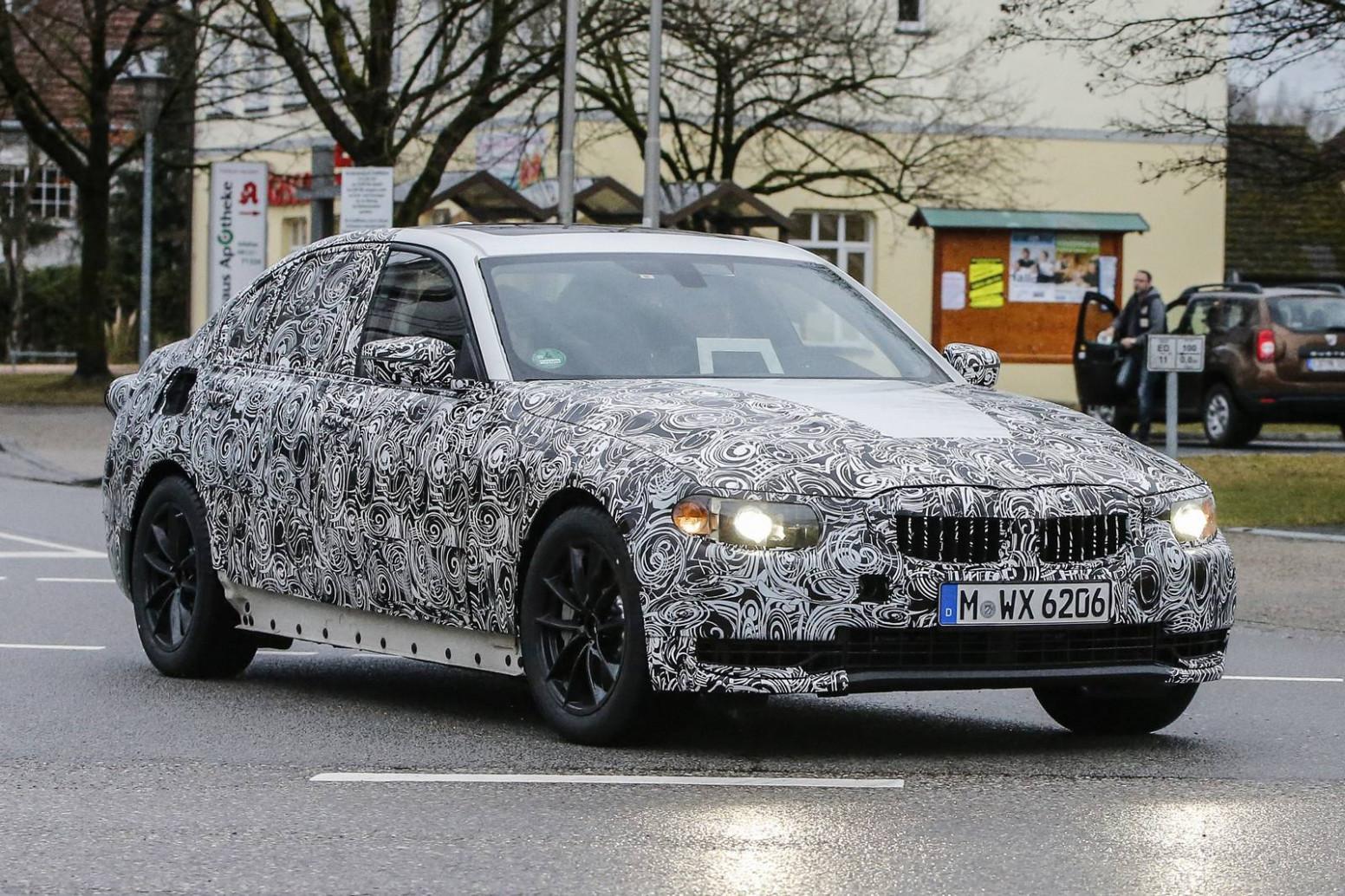 Concept Spy Shots BMW 3 Series