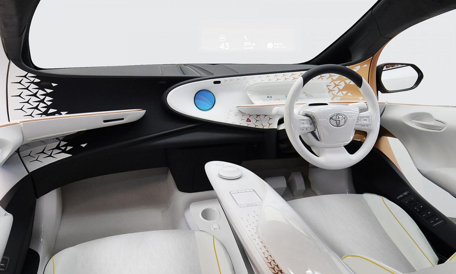 Interior Toyota Olympics 2022