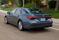 Rumors 2022 Toyota Avalon Hybrid