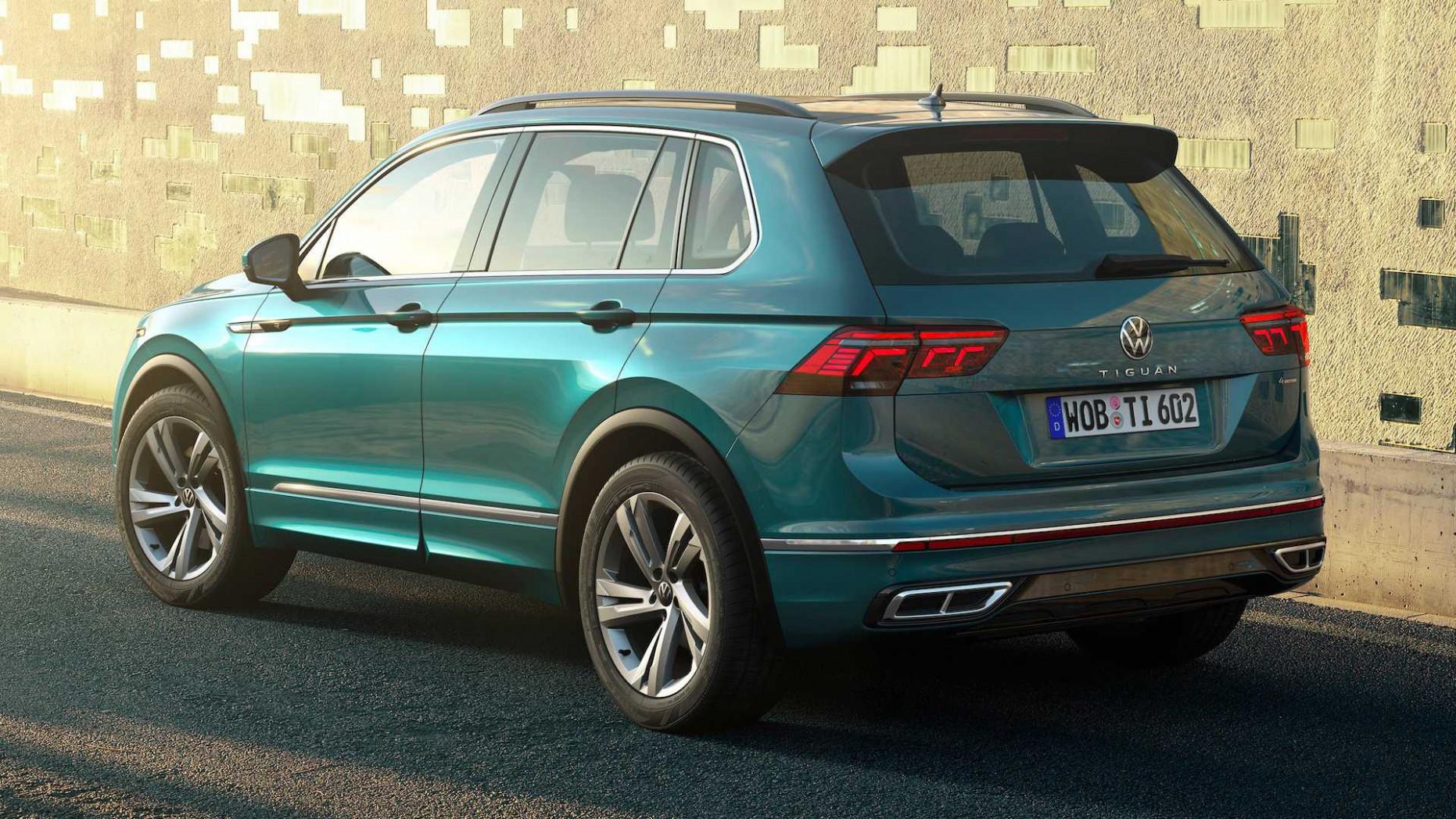New Review 2022 VW Tiguan