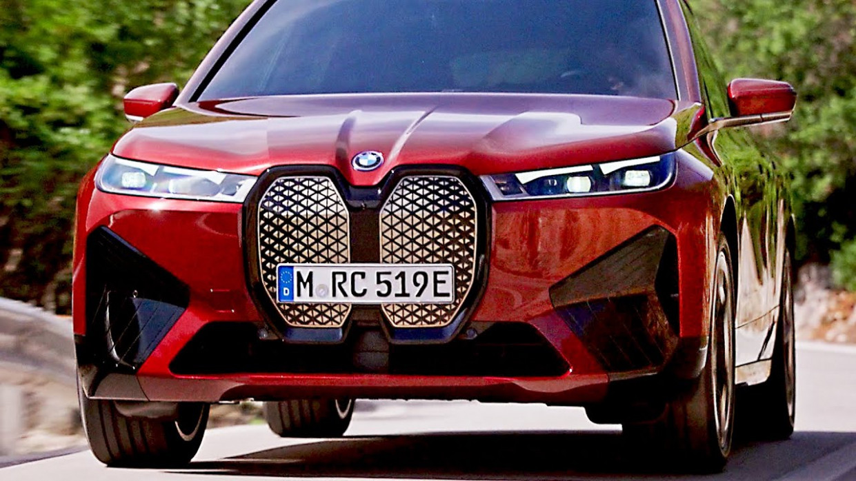 Picture BMW Electric Suv 2022