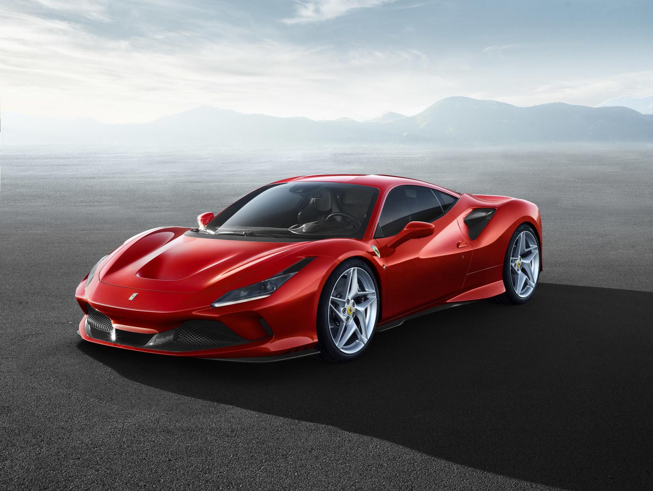 Overview Ferrari 2022 F8 Tributo