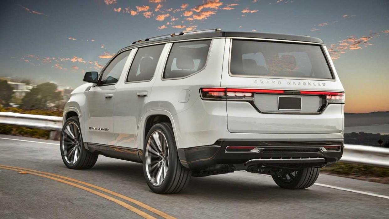 Price and Review Jeep Grand Cherokee 2022 Concept