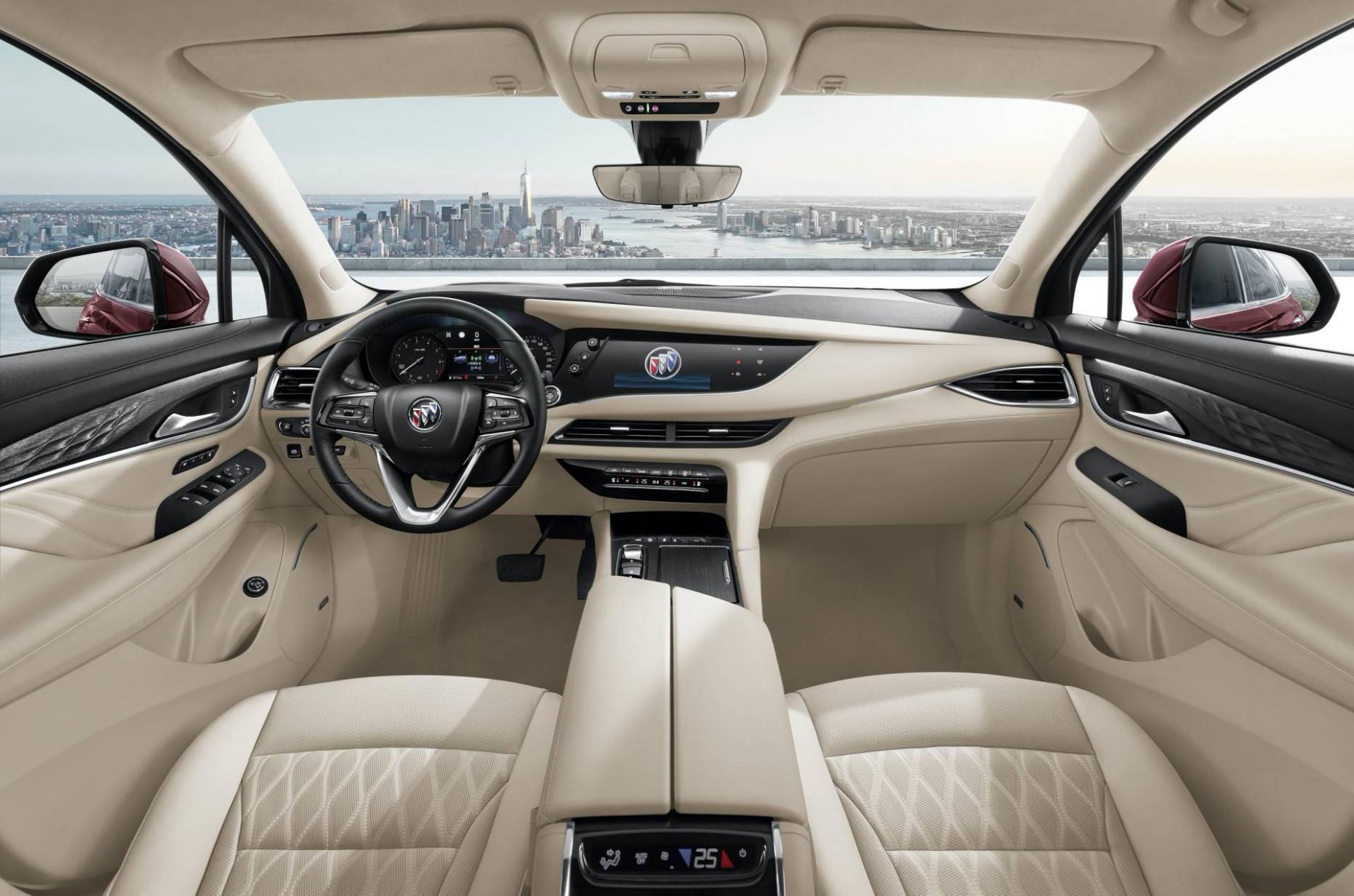 Spy Shoot 2022 Buick Enclave Interior