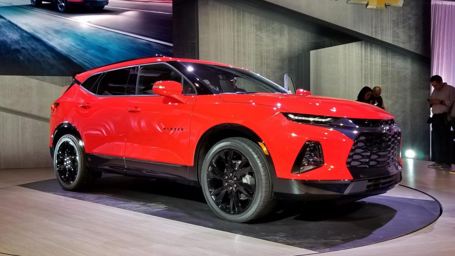 Concept 2022 Chevy Blazer