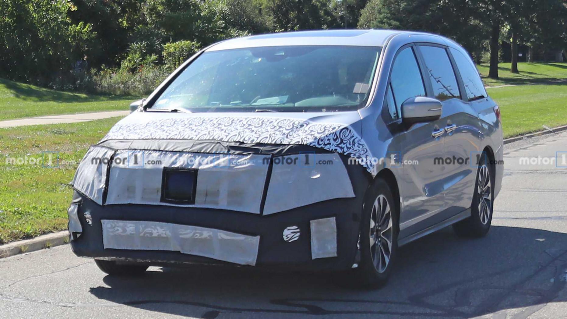 Spy Shoot 2022 Honda Odyssey