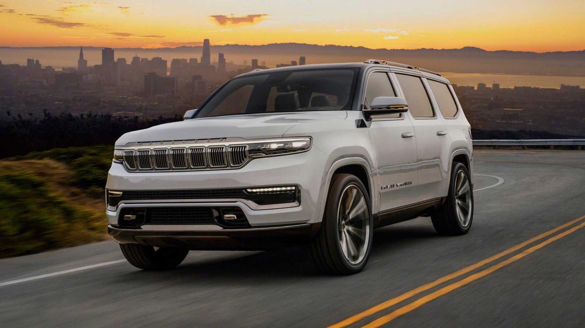Photos 2022 Jeep Wagoneer