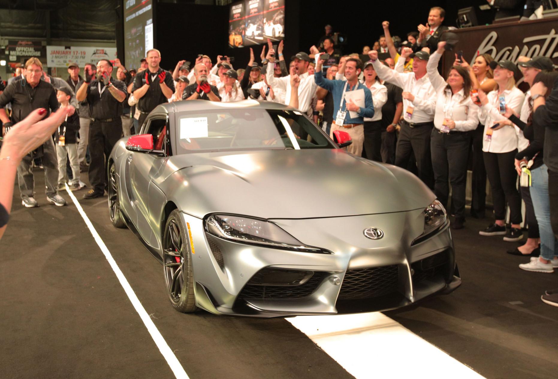 Release Date 2022 Toyota Supra Barrett Jackson