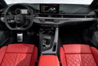 engine audi a4 2022 interior