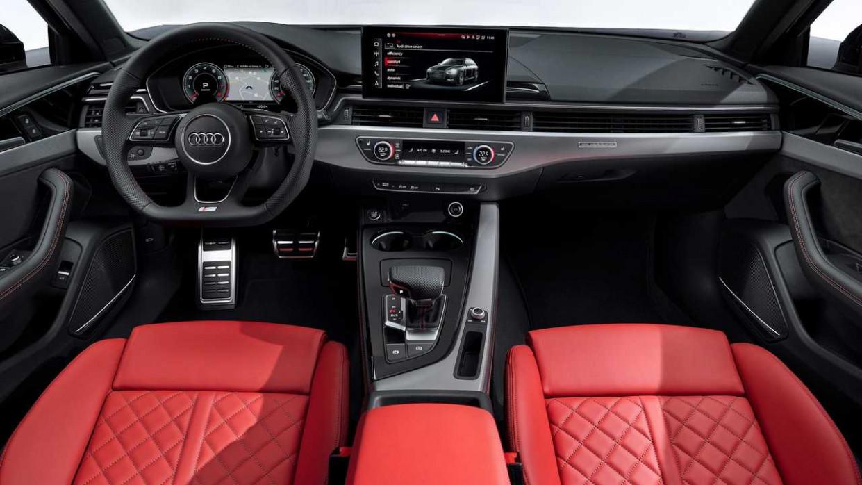 Configurations Audi A4 2022 Interior