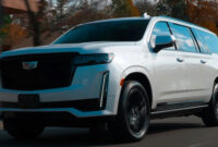 engine cadillac suv escalade 2022