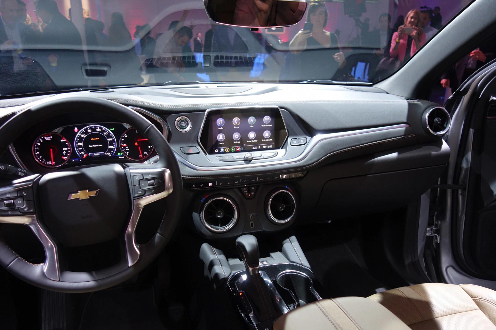 Exterior Chevrolet Blazer Xl 2022