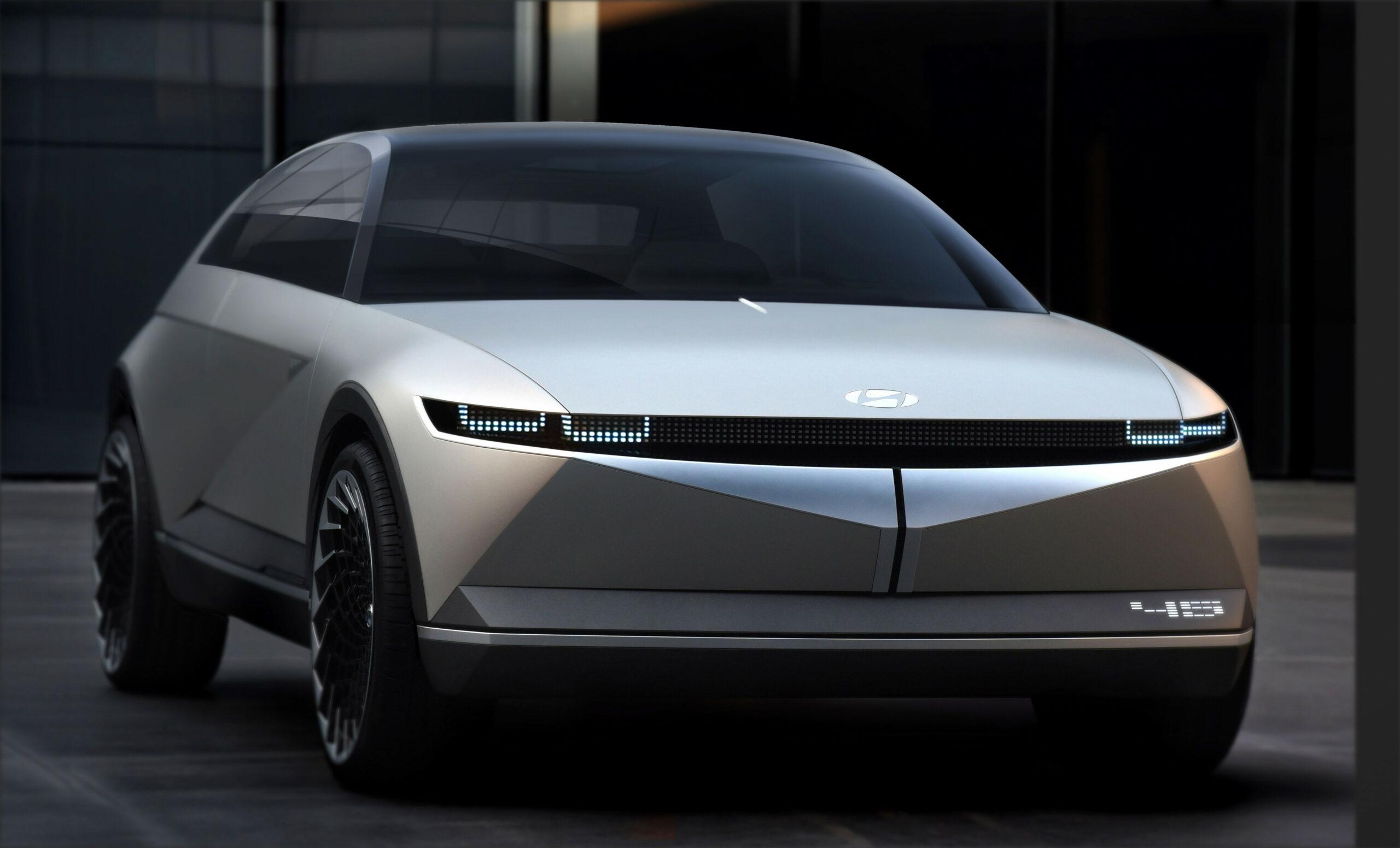 Concept Hyundai Ioniq Electric 2022 Range