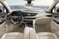 exterior 2022 buick enclave interior