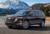 exterior 2022 chevy traverse