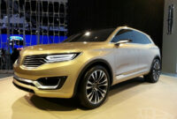 exterior 2022 lincoln mkx at beijing motor show