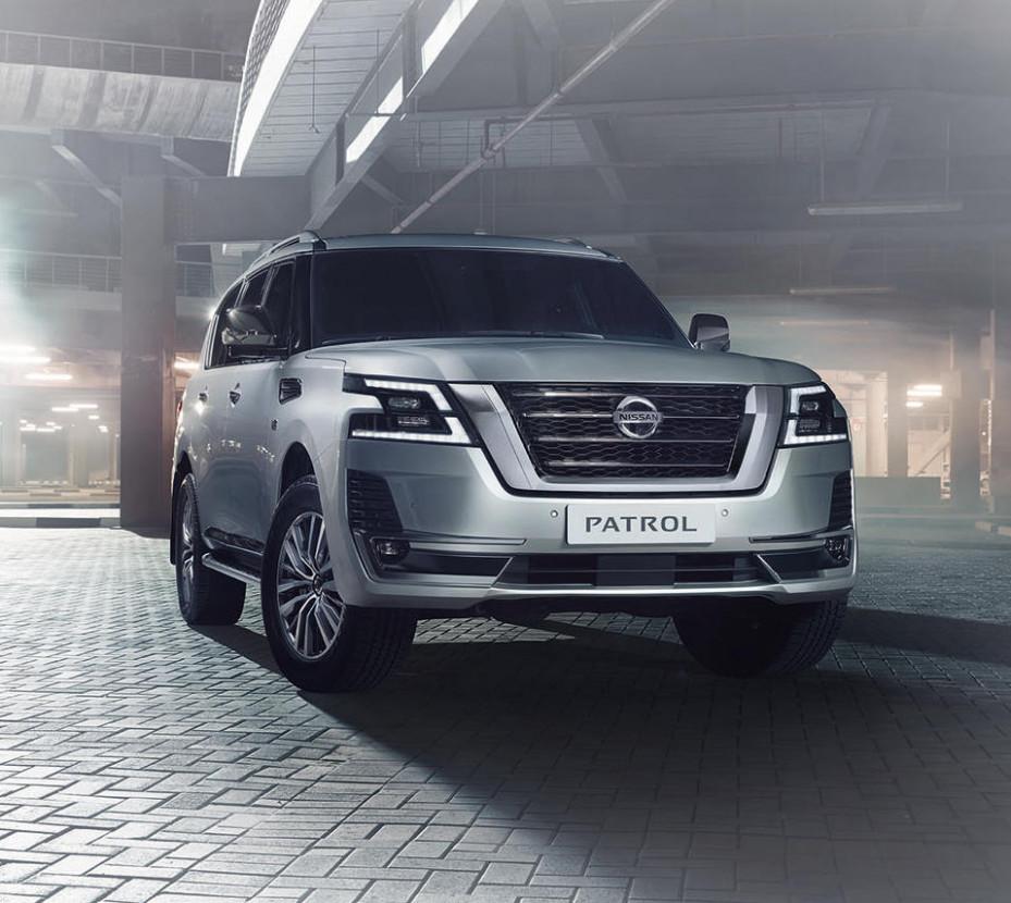 Interior 2022 Nissan Patrol