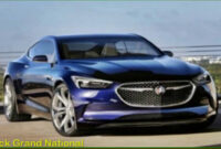 exterior and interior 2022 buick grand national gnx