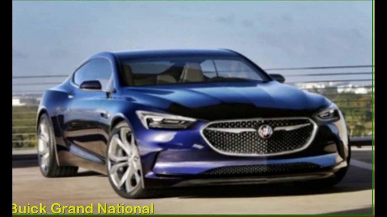 Performance and New Engine 2022 Buick Grand National Gnx