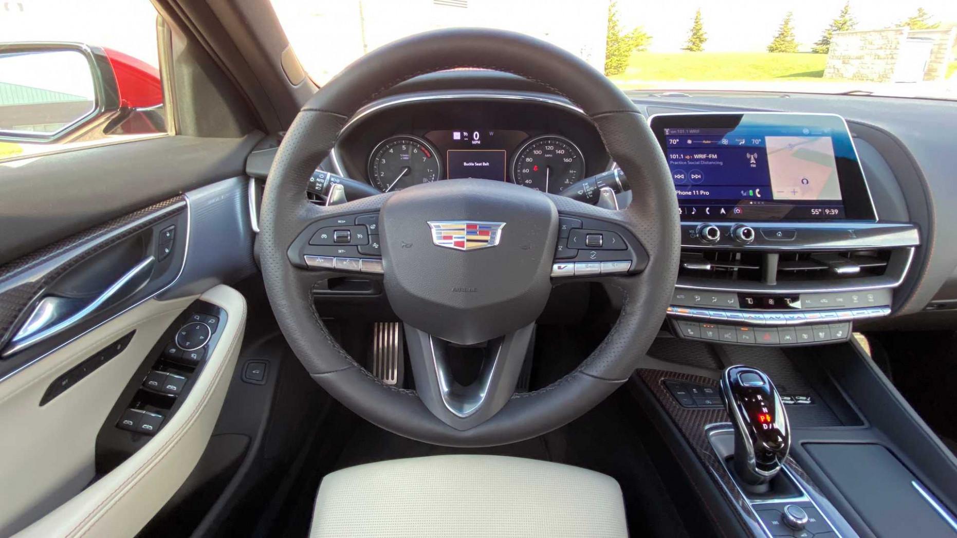 Price 2022 Cadillac Ct5 Interior