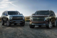 exterior and interior 2022 chevy tahoe