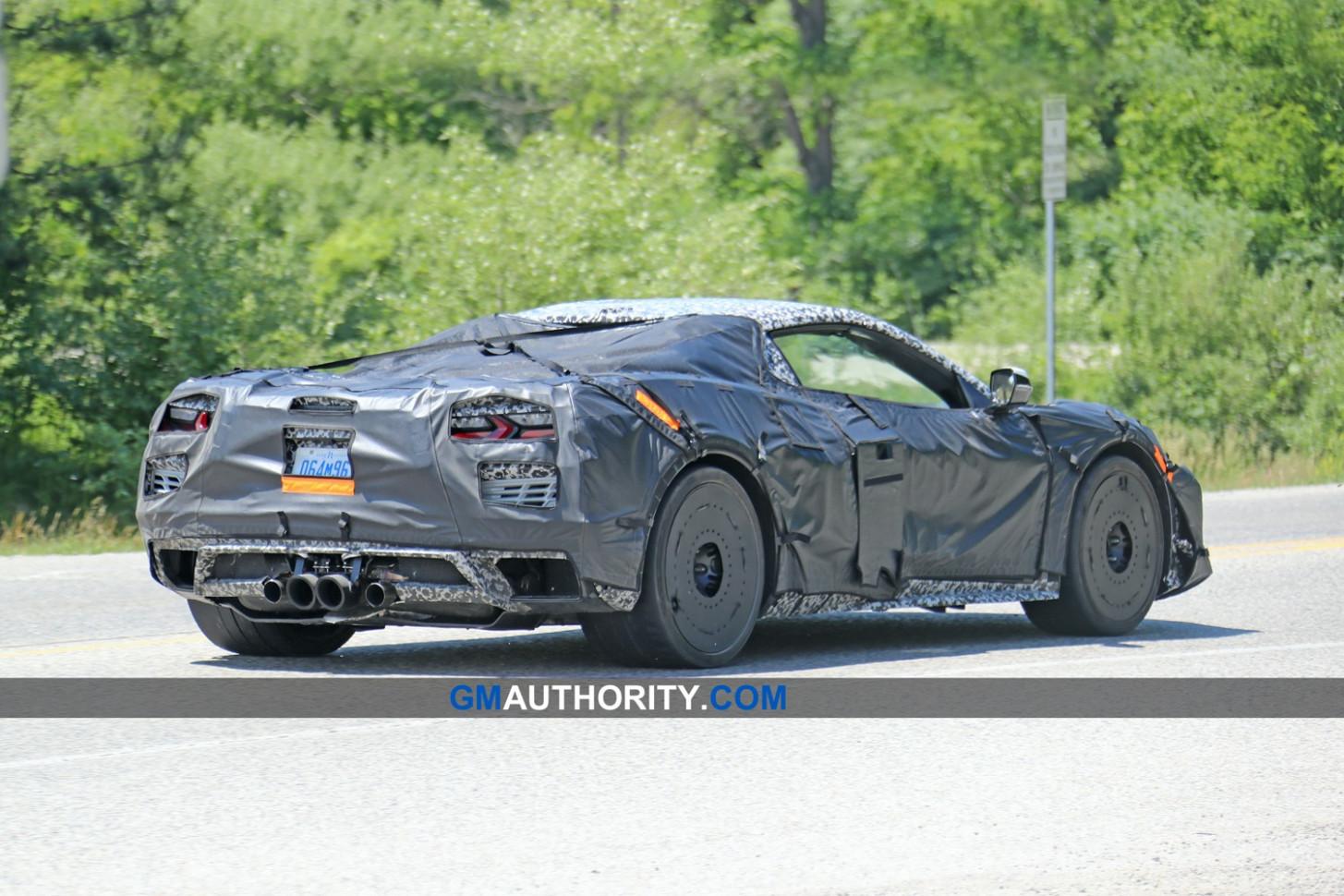 Interior 2022 Corvette Z07
