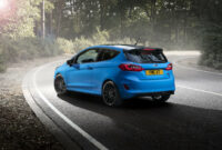 exterior and interior 2022 ford fiesta