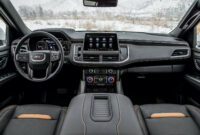 exterior and interior 2022 gmc yukon xl pictures