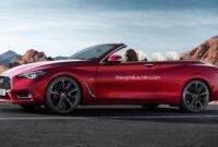 exterior and interior 2022 infiniti q60 coupe convertible