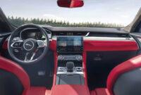 exterior and interior 2022 jaguar f type