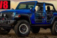 exterior and interior 2022 jeep wrangler rubicon
