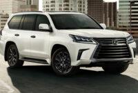 exterior and interior 2022 lexus lx 570