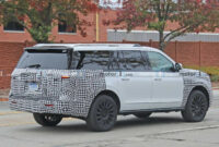 exterior and interior 2022 lincoln navigator
