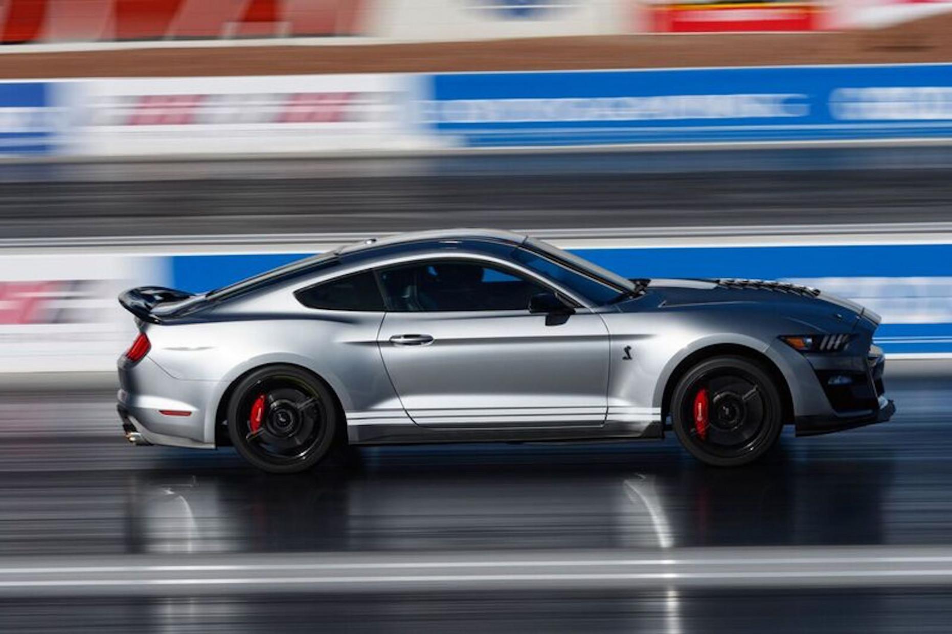 History 2022 Mustang Gt500